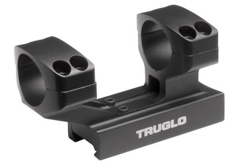 Truglo Scope Mount For Tactical Rifle 1-Piece Weaver/Picatinny Black Fin