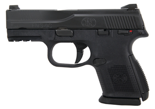 "FN FNS-9C 9MM Compact, Safety 9mm 3.6"" Barrel, 17 Rd Mag"