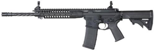 """LWRC Improved Carbine Enhanced Rifle 5.56/223 16"""" Helical Fluted Barrel Black 30rd Mag"""