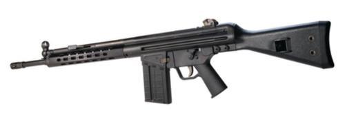 PTR-91F 308, 18 Inch, Black Furniture, HK Flash Hider