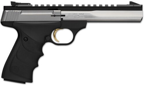 "Browning Buck Mark Contour Stainless 22LR 7"" Barrel, 10 Rd Mag"