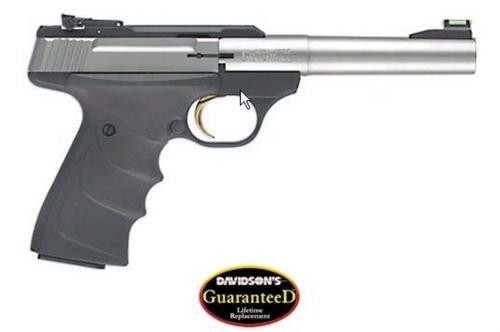 "Browning Buck Mark 22 Cal Camper, 5.5"" Stainless Barrel"