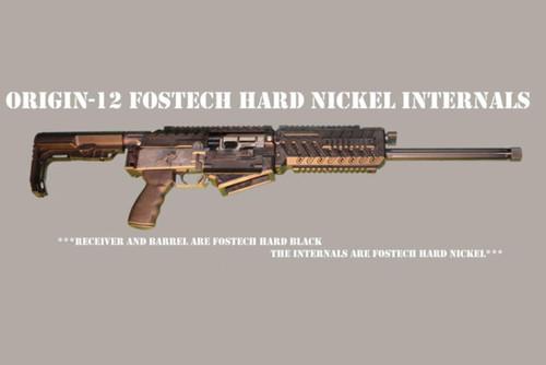 Fostech Origin-12 Ga Takedodwn Shotgun, Black Finish, Hard Nickel Internals