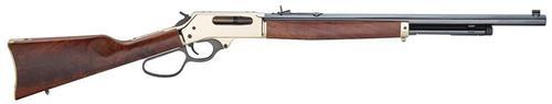 """Henry Lever Action 45-70 22"""" barrel Blued Wood Stock"""