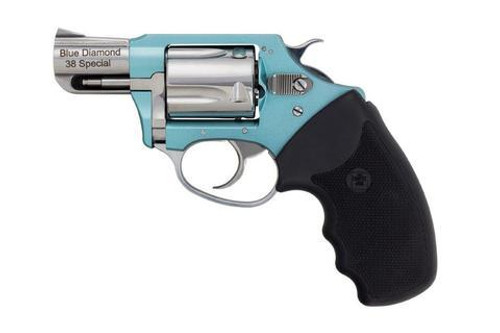 "Charter Arms Blue Diamond Undercover Lite, .38 Special, 2"", Tiffany Blue/Hi-Polish"