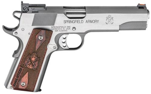 "Springfield Range Officer 9mm, 5"", Adjustable Sights, Stainless Steel"