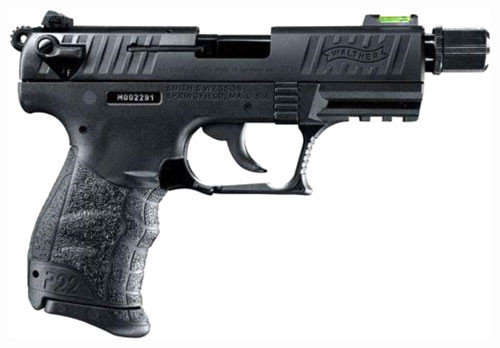 "Walther P22, 3.4"" Threaded Barrel, 10 Rnd Mag"