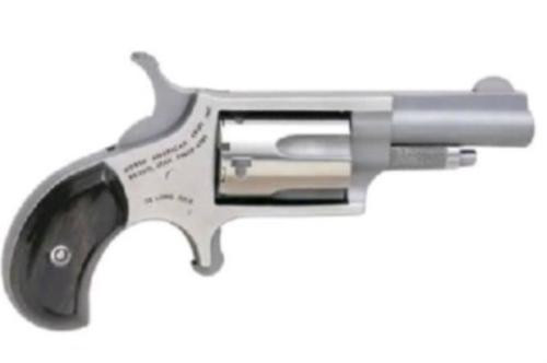 "North American Arms NAA Mini 22 Magnum 1-5/8"" Barrel SS Black Pearl Grip"