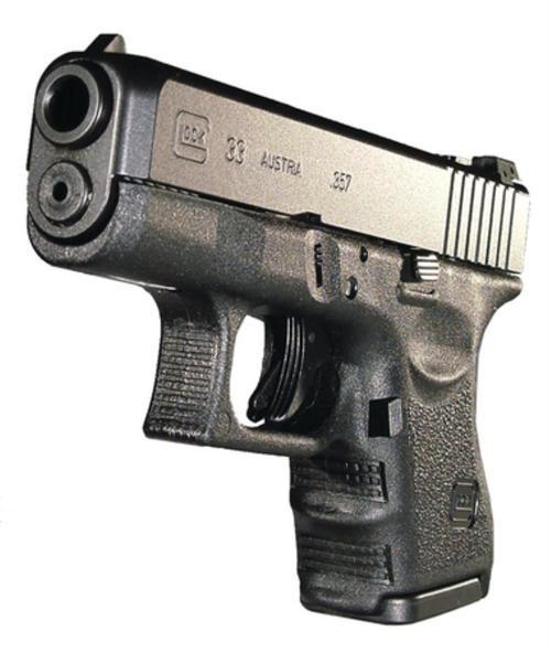 "Glock G33 Standard 357 Sig 3.46"" Barrel, Fixed Sights Poly Grip/Frame Black, 9rd"