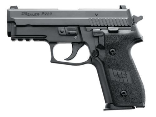 Sig P229 40 S&W 3.9In Nitron Black Da/Sa Siglite E2 Grip (2) 12Rd Steel MAG
