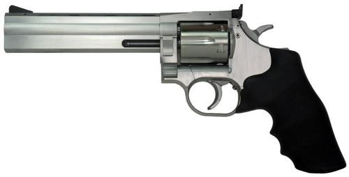 "Dan Wesson 715 .357 Mag Revolver, Stainless Steel, 6"" Barrel, 6 Shot"