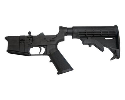 CMMG AR-15 LOWER COMPLETE, 6-POS MIL-SPEC STOCK
