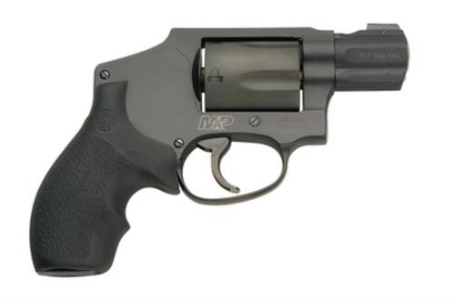 "Smith & Wesson M&P340 357 Mag/38 Spc +P 1.875"" Barrel Matte Black, Rubber Grips 5 Round"
