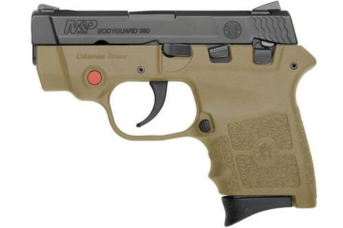 Smith & Wesson M&P Bodyguard .380 ACP,, , Laser, Flat Dark Earth,  6 rd