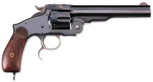 "Uberti 1875 No. 3 New Model Russian Top Break, .44 Russian, 6.5"" Barrel"