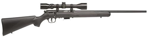 "Savage 93 FXP, 22 WMR, 21"" Barrel, Blued, Black Polymer Stock, Bushnell 3-9x40MM Scope, 5Rd, Detachable Box Magazine"