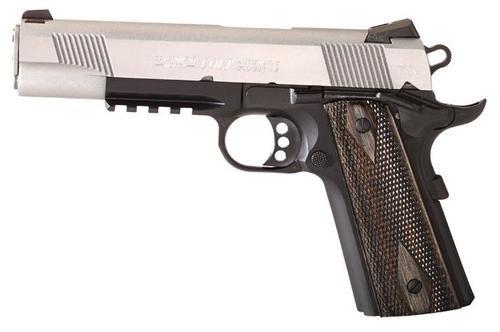 Colt 1911 'Rail Gun', 45 ACP, Two Tone, Full Size