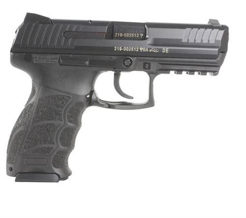 HK P30S (V3) DA/SA, ambidextrous safety lever/rear decocking button, two 13rd magazines