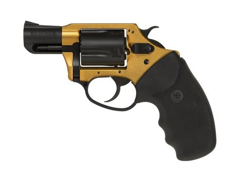"""Charter Arms Goldfinger Undercover Lite, .38 Special +P, 2"""", 5rd, Gold-Tone/Black"""