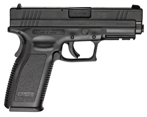 Springfield XD 45 ACP, 4 Inch, Black, Full Package, 13rd Mags