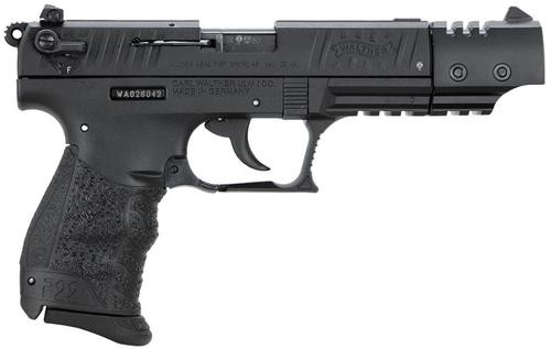 Walther P22 .22 L.R. CA Target Black 10 Round, 2 Mags