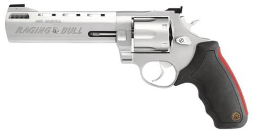 "Taurus 454 Raging Bull 454 Casull 6.5"" Barrel 5rd Adjustable Sight Rubber Grip SS"