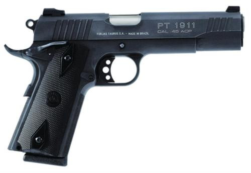 Taurus 1911 Government, 9MM, Blue, Novak Sights, 9 Rnd Mag