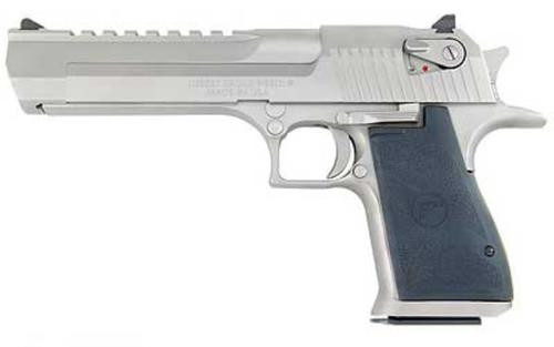 Desert Eagle 357 Magnum Satin Nickel Finish 6 Rd Mag