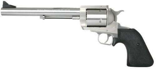 "Magnum Research Big Frame 454 Casull 7.5"" 5 Black Hogue Rubber Grip SS"