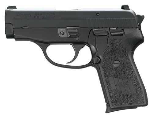SIG P239 357 SIG 3.6In SAS BLK Da/Sa Siglite Polymer Grip (2) 7RD Steel MAG Dehorned SRT