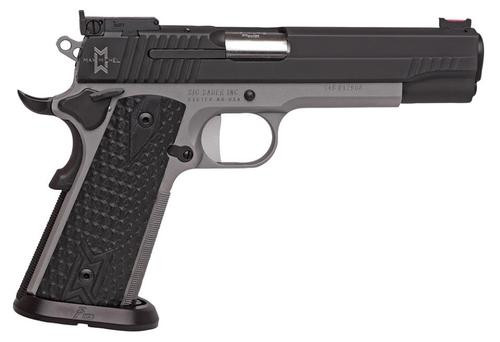 "Sig 1911 40S&W, 5"" MAX Michel Reverse 2-Tone, Adj Sights, G10 Gripx2, 8rd Mag, ICE Magwell"