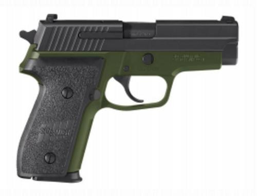 "Sig P228 M11-A1 9mm Army Green/Black, 3.9"", 10rd, Night Sights"