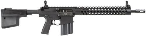 "TroyDef 308 Rifle SA 308/7.62 16"" Barrel, Troy BattleAx Collapsible Black, 20rd"