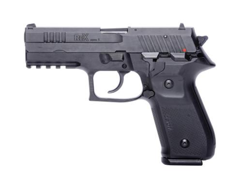 "Arex Rex Zero 1 Standard 9mm, 4.3"" Barrel, Contrast Sights, Black, 17rd"