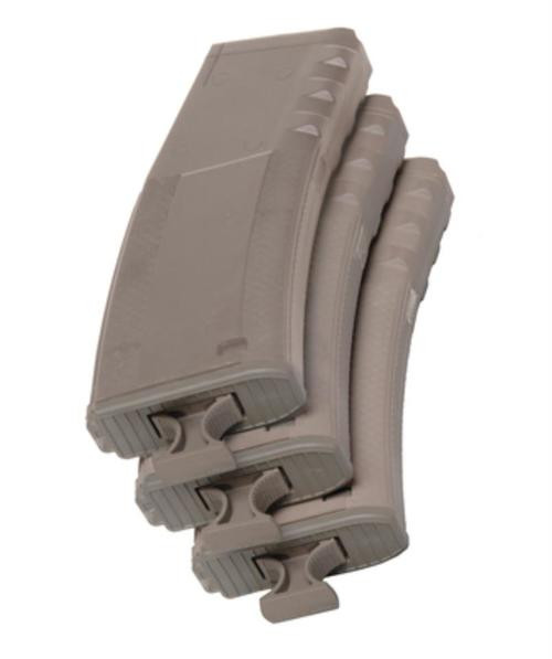 Troy Battlemag 3-Pack M4/M16/AR15/HK416/FN SCAR, Flat Dark Earth, 30rd