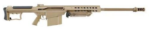 "Barrett M107A1 .50 BMG 29"" Chrome Lined Barrel, Supressor-Ready Muzzle Brake, Flat Dark Earth"