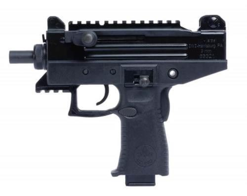 "IWI US, Inc, Uzi Pro, 9mm, 4.5"" Barrel, Polymer Frame, Black, Adjustable Sights, Stabilizing Brace, 2 Magazines, 1-20Rd & 1-25Rd"