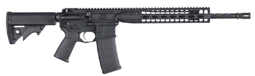 "LWRC DI AR-15 5.56mm, 16"" Spiral-Fluted Barrel, NiCorr, Compact Stock, 30rd"