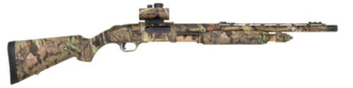 Mossberg 835 Ulti-Mag Turkey Thug 12 Ga 3.5 Inch Chamber 20 Inch Vent Rib Barrel Synthetic Stock Full Mossy Oak Break-Up Infinity Camouflage Finish With Rail And Truglo Red Dot Sight 5 Round