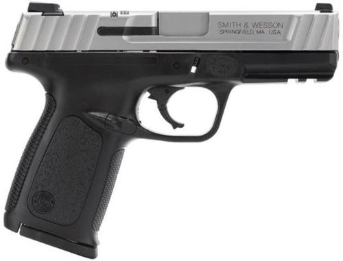 """Smith & Wesson SD VE *MA Compliant* 40S&W 4"""" Barrel, Black Poly Frame/SS Slide, 10rd"""
