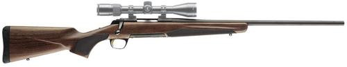 "Browning X-Bolt Hunter 375 H&H Mag 24"" Barrel, Satin Walnut Stock Blued, 4rd"