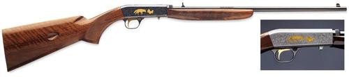 """Browning SA-22 Grade VI 22LR 19.25"""" Barrel, Gloss Wal Stock Gray Satin, 12rd"""