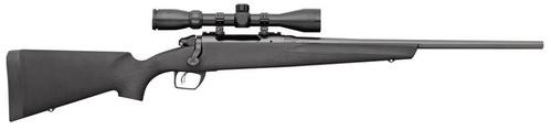 "Remington 783, Compact, Bolt Action Rifle, 243 Win, 20"" Barrel, Black, Synthetic Stock, 3-9x40MM Scope, Super Cell Recoil Pad"