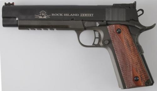 Rock Island Armory M1911-A1 Pro Mtch 45 ACP 6 Rl