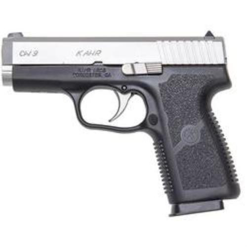 """Kahr CW9 9mm, 3.6"""", 7rd, Night Sights, Polymer Frame, Stainless Steel Finish"""