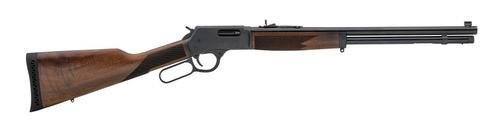 "Henry Wisconsin Big Boy Steel Lever 44 Mag 20.0"" Barrel, Walnut Stock Steel Rec, 10rd"
