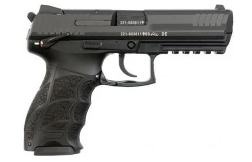 HK P30LS, Long Slide (V3) DA/SA, ambidextrous safety/rear decocking button, two 13rd magazines