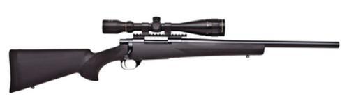 "Howa/Hogue GameKing Scope Package .22-250 Remington 22"" Contour Barrel Blue Finish Black Hogue Stock 5rds With GameKing 3.5-10x44mm Riflescope"