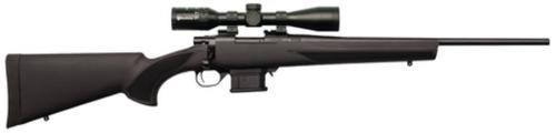 """Howa Mini Action/Panamax Package .222 Remington 20"""" Lightweight Blued Barrel Black Synthetic Stock Nikko Stirling Panamax 3-9x40mm Riflescope 10rd"""