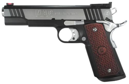 "Metro Arms 1911 Classic 45 ACP 5"" Barrel Black Chrome Finish Adjustable Rear Sight Hardwood Grips 8rd Mag"